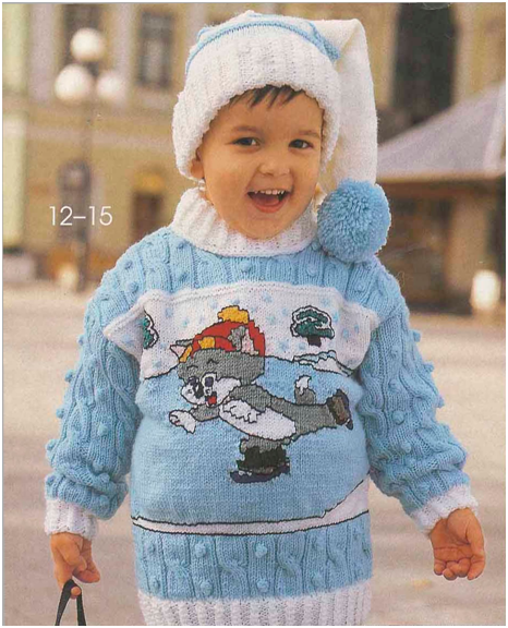 Вязание детских свитеров